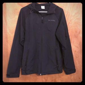 Black lightweight Columbia Jacket